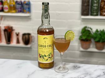 Cargo Cult Banana Spiced Rum Review and Banana Daiquiri Recipe