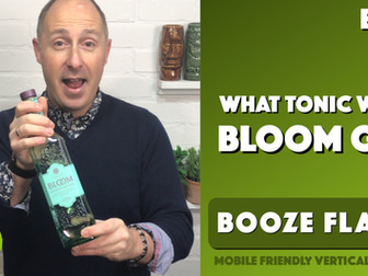 What Tonic Water to serve with Bloom Gin