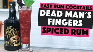 Dead Mans Fingers Spiced Rum Cocktail | BERRY DAIQUIRI