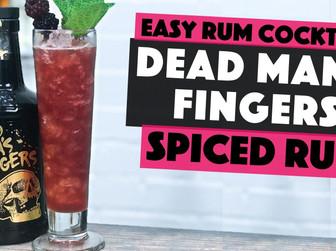 Dead Mans Fingers Spiced Rum Cocktail   BERRY DAIQUIRI