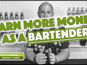 Earning more money as a Bartender