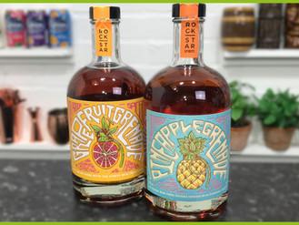 Rockstar Spirits; Pineapple Grenade and Grapefruit Grenade