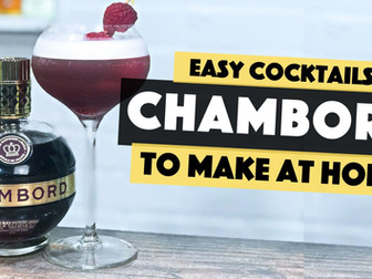 Chambord Cocktails | Raspberry Sour Cocktail Recipe