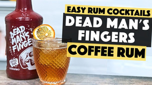 Dead Mans Fingers Coffee Rum | Old Fashioned with Coffee & Chocolate