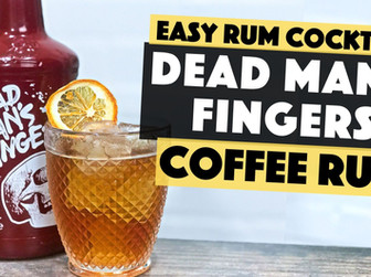 Dead Mans Fingers Coffee Rum   Old Fashioned with Coffee & Chocolate