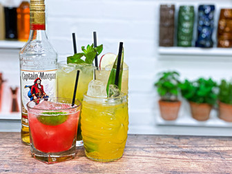 5 Easy Cocktails with Captain Morgan Spiced Rum