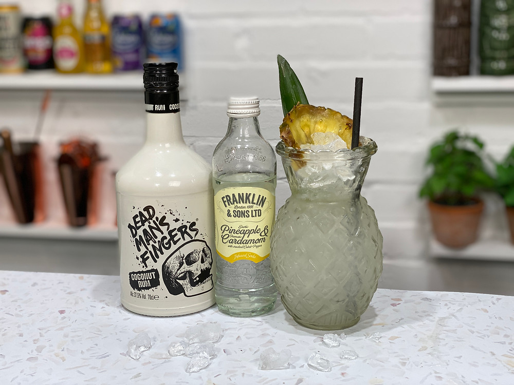 Low Calorie Pina Colada Cocktail Recipe