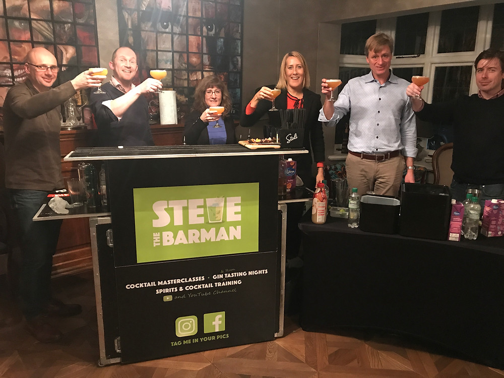 Corporate Cocktail Masterclass with Steve the Barman