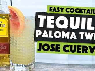 Jose Cuervo Tequila   Flipped up PALOMA Cocktail