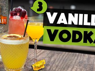 3 Vanilla VODKA Cocktails - easy Cocktails to make at home!