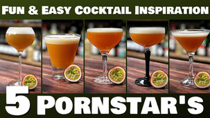 How to make the BEST Pornstar Martini at Home