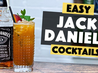 Jack Daniels Whiskey Cocktails | Peach Tea Recipe