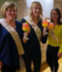 Hen Party Mobile Cocktail Making Class at Fullers Hill Cottages in Cambridge