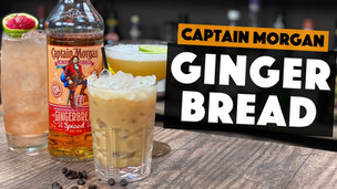 Captain Morgan Rum | 3 EASY Gingerbread Cocktails to make at HOME