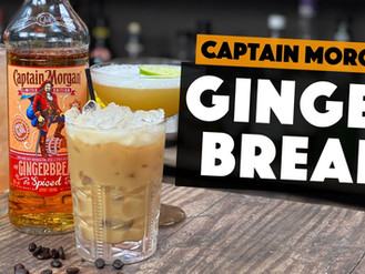 Captain Morgan Rum   3 EASY Gingerbread Cocktails to make at HOME