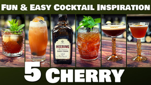 5 Easy Cocktails with Cherry Heering Liqueur