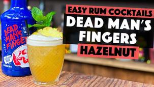 Hazelnut Cocktails | Dead Mans Fingers Hazelnut Rum with Toffee & Pineapple.