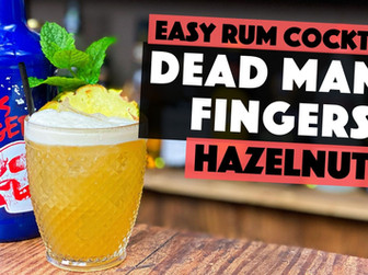 Hazelnut Cocktails | Dead Mans Fingers Hazelnut Rum with Toffee & Pineapple.