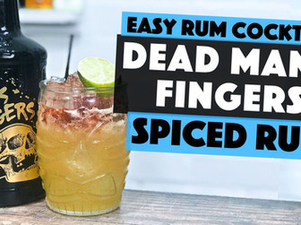 Dead Mans Fingers SPICED RUM Cocktail | Pear Dark and Stormy
