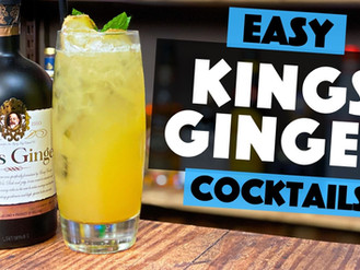 Kings Ginger Liqueur | Ginger & Pineapple Cocktail Recipe