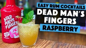 Dead Mans Fingers RASPBERRY Rum as a Raspberry Mai Tai