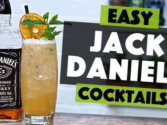 Jack Daniels HONEY Cocktail with PEAR