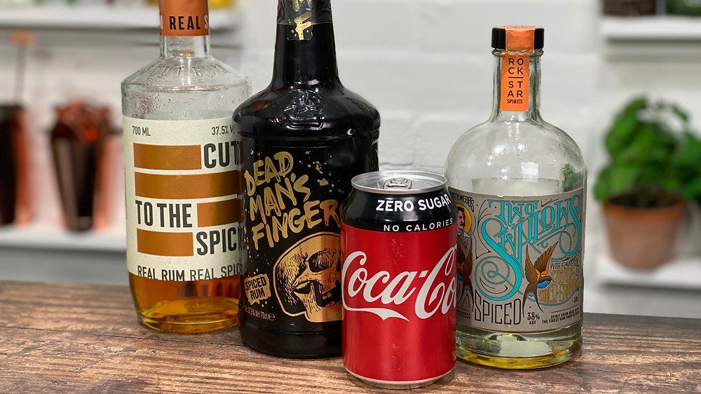Best Spiced Rum and Cokes