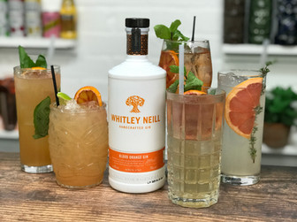 5 Easy Gin Cocktails Whitley Neill Blood Orange Gin