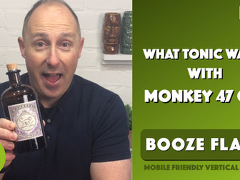 What Tonic Water with Monkey 47 Gin?
