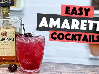 Easy Amaretto Cocktails   Cherry Margarita