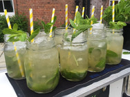 Mojito in Mobile Cocktail Bar Hire from Steve the Barman