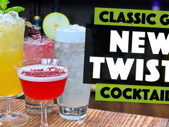 5 Classic Gin based Cocktails - 2020 TWISTS