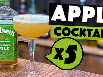 5 EASY Apple Jack Daniels Cocktails to make at Home
