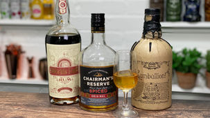 What are the Best Spiced Rums to Drink Neat?