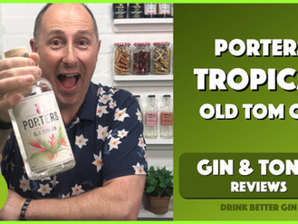 Porters Tropical Old Tom Gin Review