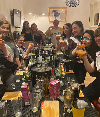 Hen Party Cocktail Making Class in Ipswich