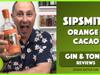 Sipsmith Orange & Cacao Gin Review