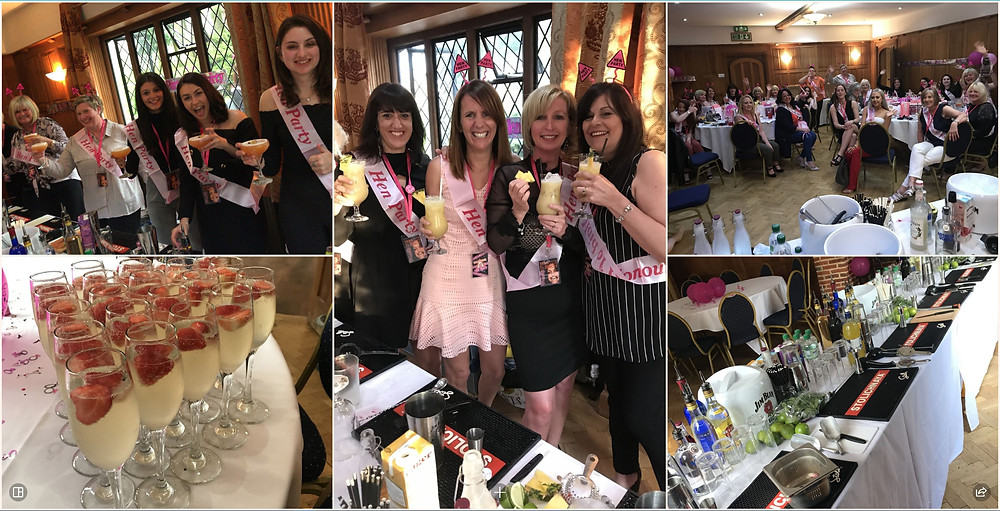 Hen Party Cocktail Making Class Essex