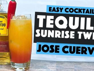 Jose Cuervo TEQUILA Cocktails   a CHILLI & MANGO Tequila Sunrise TWIST