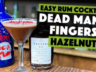 Chocolate Cocktail Recipe | with Dead Mans Fingers Hazelnut Rum
