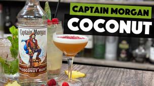3 EASY Captain Morgan COCONUT Rum Cocktails