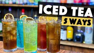 How to Make a Long Island Iced tea - 5 Ways