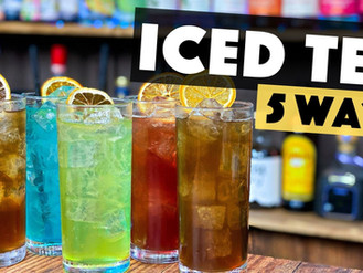 How to Make a Long Island Iced tea - 5 Ways