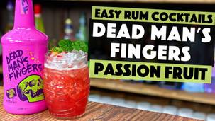 Dead Mans Fingers Passion Fruit Rum Cocktail | Passion Fruit & Strawberry Daiquiri
