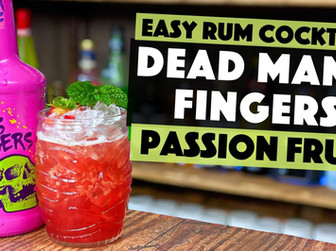 Dead Mans Fingers Passion Fruit Rum Cocktail | Passion Fruit & Strawberry Daiquiri