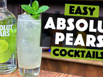 Absolut Pears Vodka | Pear and Ginger Cocktail Recipe