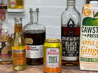 The BEST Spiced Rum Highball Cocktails
