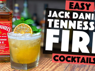 Jack Daniels Tennessee Fire Cocktail Recipe | Apricot Sour