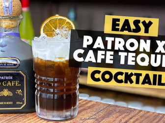 Patron XO Cafe Tequila Cocktail | Coffee Tequila Sour Recipe