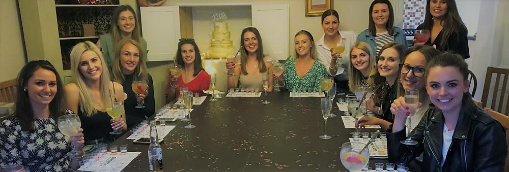 Gin Tasting Hen Parties